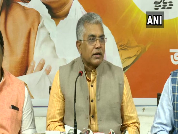 BJP West Bengal President Dilip Ghosh (Photo/ANI)