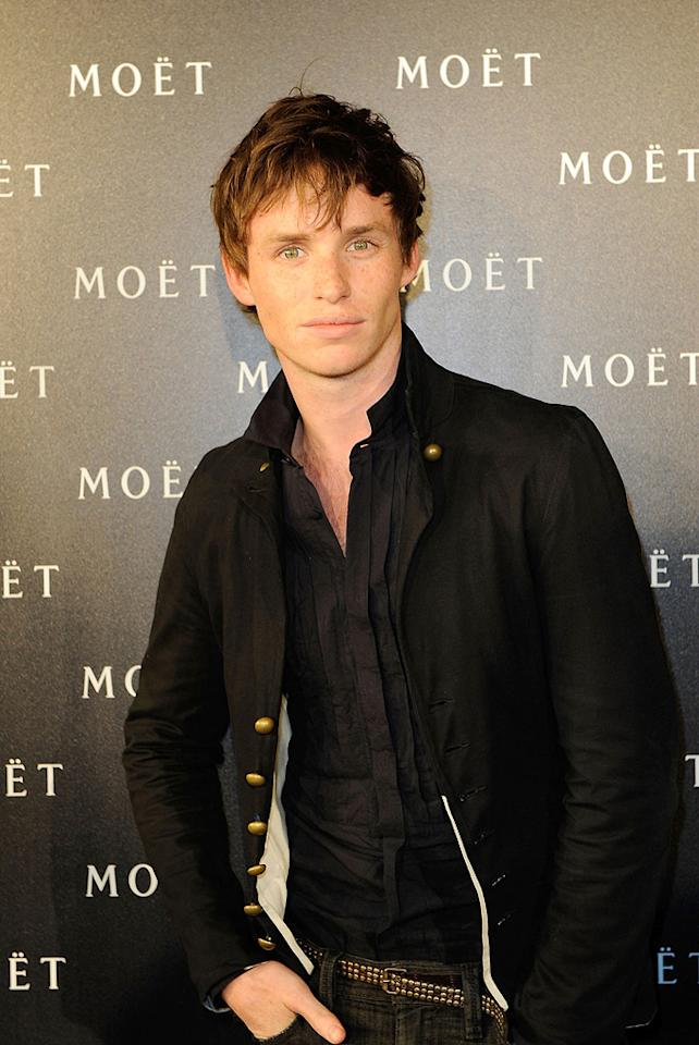 "<a href=""http://movies.yahoo.com/movie/contributor/1809675503"">Eddie Redmayne</a> attends the 'Moet & Chandon: A tribute to Cinema' in London - 03/24/2009"