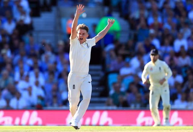 Sam Curran impressed in the first Test (Mike Egerton/PA)