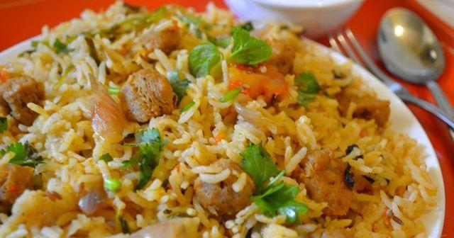 Soya Masala Rice: A Perfect Lunch