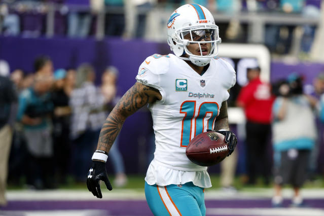 Miami Dolphins wide receiver Kenny Stills had some criticism for Jay-Z on Monday. (AP)
