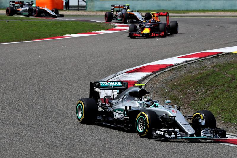 Last time: Nico Rosberg won the Chinese Grand Prix in 2016: Mark Thompson/Getty Images