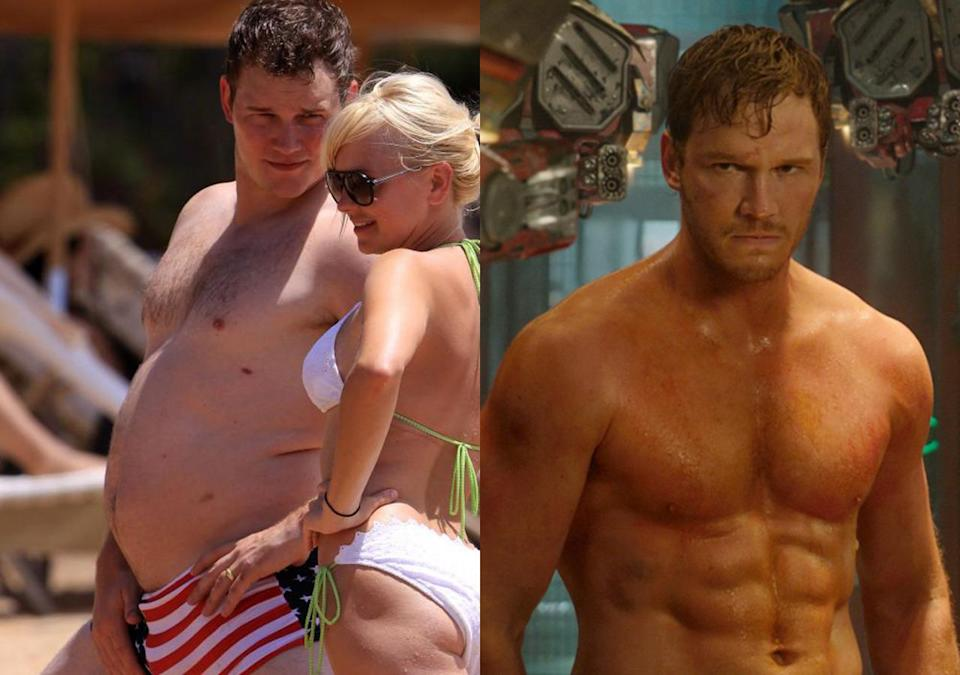 """<p>The 'Parks and Rec' star said it took """"three or four hours a day of just consistent, ass-kicking hard work"""" to shed 60lbs of weight in preparation for playing Star Lord. He'd previously slimmed down to play a soldier in 'Zero Dark Thirty' but piled it back on for Vince Vaughn comedy 'Delivery Man'.</p>"""