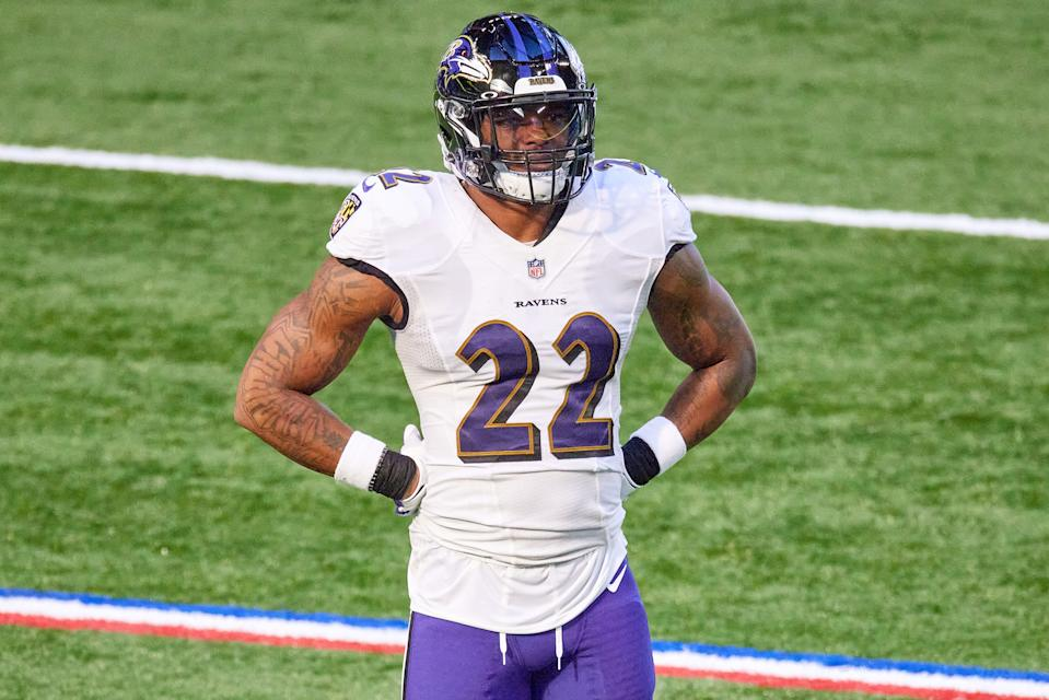 Baltimore Ravens cornerback Jimmy Smith