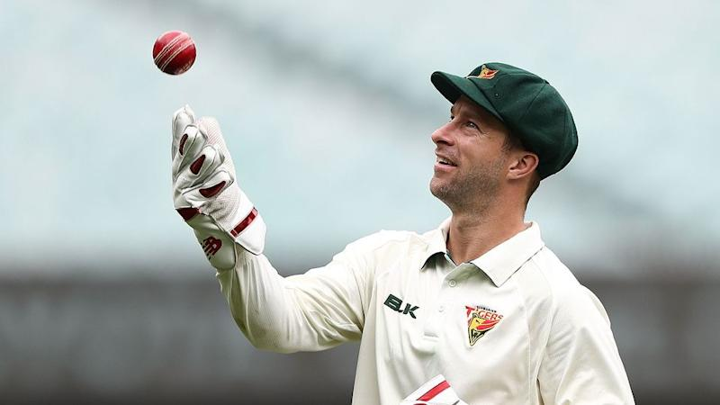 Wade admits his Test career could be over. Pic: Getty