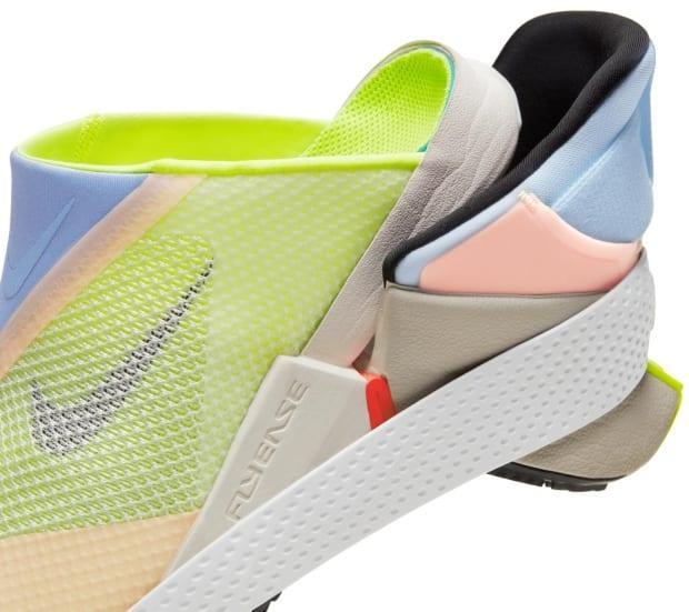 Nike says the Go FlyEase's 'tensioner' allows the wearer to put the shoe on hands-free and perform 'an action many might take for granted (kicking-off a shoe).' Lingard and others see it as a significant upgrade when compared to other accessible footwear, which makes its scarcity particularly frustrating.