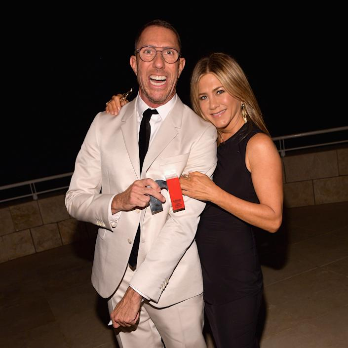"Celebrity hairstylist Chris McMillan and Jennifer Aniston have been ""friends"" forever. (Photo: Matt Winkelmeyer/Getty Images for InStyle)"