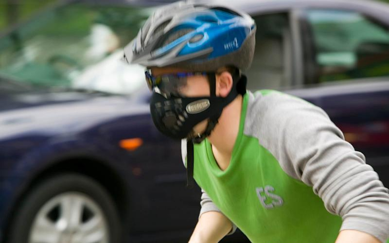 The University of Glasgow study found cycling lowered the risk of dying early and of getting cancer - Corbis Documentary