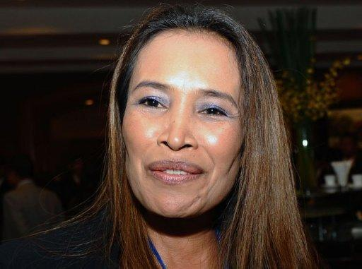 Cambodian activist Somaly Mam at a regional workshop on human trafficking held in Hanoi in February. Sold into a brothel as a child, Mam has become one of the most recognisable, glamorous and controversial faces of the global anti-sex slavery movement