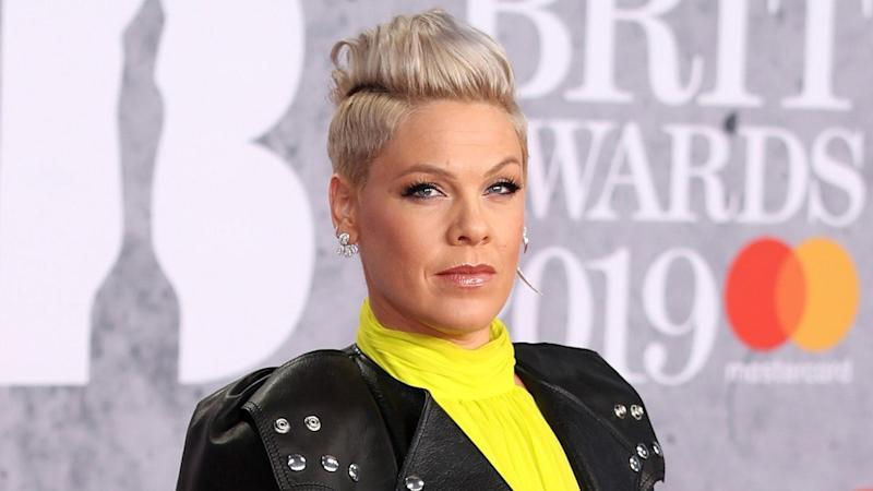 Pink Recalls Being Super Stoned and Almost Crashing a Motorcycle in First Music Video