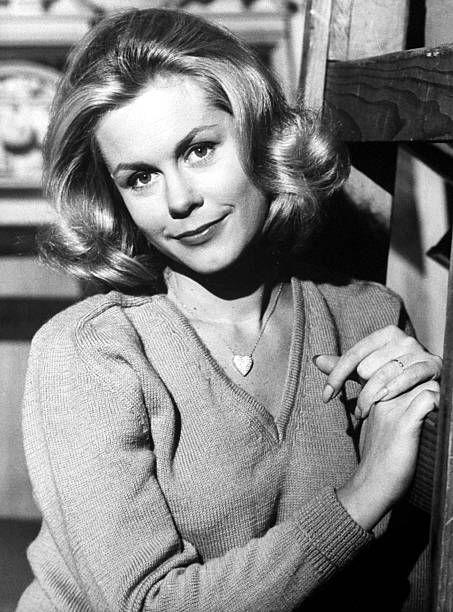 """<p>Born into a family of actors, Elizabeth Montgomery made numerous TV appearances (her father had a televised playhouse series) until she won the role of Samantha in <a href=""""https://www.amazon.com/Darrin-Take-This-Witch-Samantha/dp/B001Q5NL3Q/?tag=syn-yahoo-20&ascsubtag=%5Bartid%7C10055.g.34403196%5Bsrc%7Cyahoo-us"""" rel=""""nofollow noopener"""" target=""""_blank"""" data-ylk=""""slk:Bewitched"""" class=""""link rapid-noclick-resp""""><em>Bewitched</em></a>. The hit show ran from 1964 to 1972. We totally envy her powers — as well as her bouncy '60s hair and groovy outfits!</p>"""