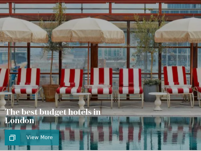 The best budget hotels in London