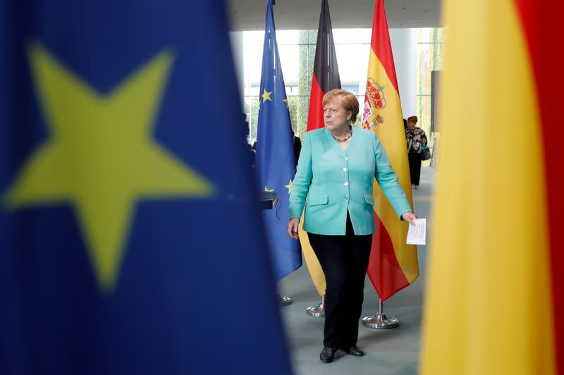 Time is pressing on EU leaders to agree budget, recovery fund - Merkel