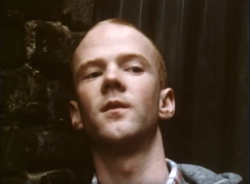 """Jimmy Somerville faces a homophobic gang in Bronski Beat's """"Smalltown Boy"""" video. (Photo: London Records)"""