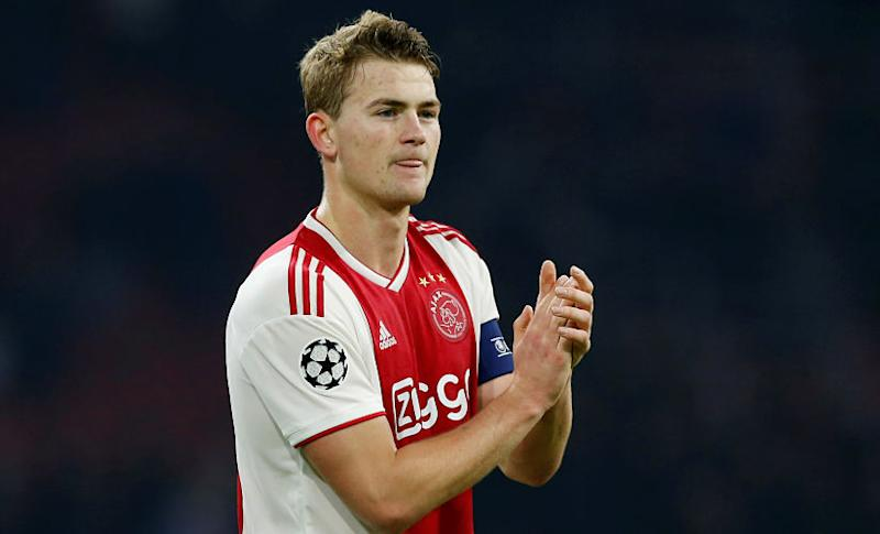 De Ligt played 117 games for Ajax in all competitions. Reuters