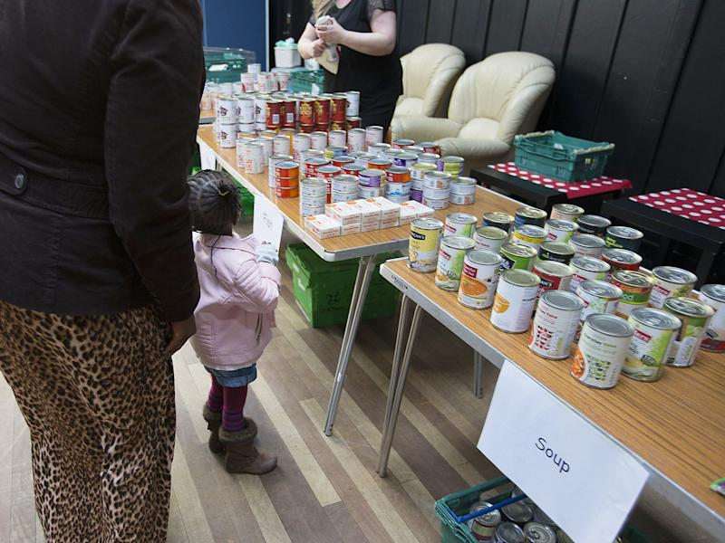 Food banks across Glasgow and the UK have seen increased demand: Rex