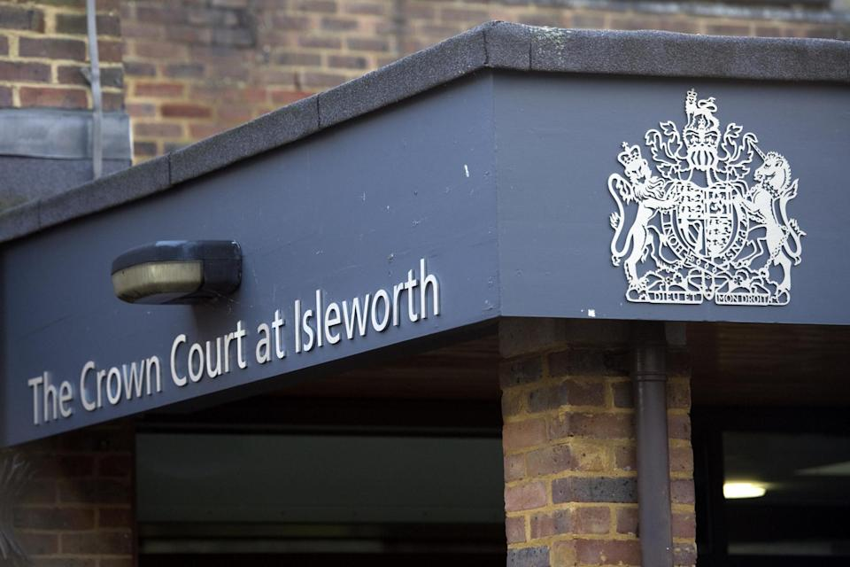 General view of Isleworth Crown Court, London (PA )