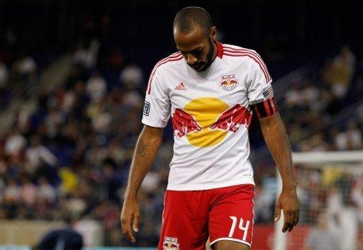 Thierry Henry will miss New York's game at New England on Saturday