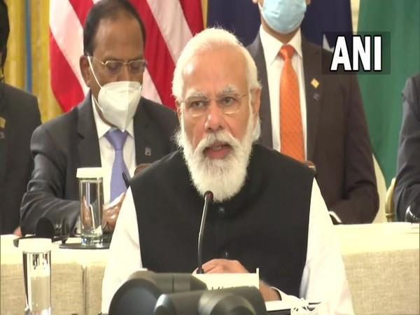 Prime Minister Narendra Moda at first in-person summit
