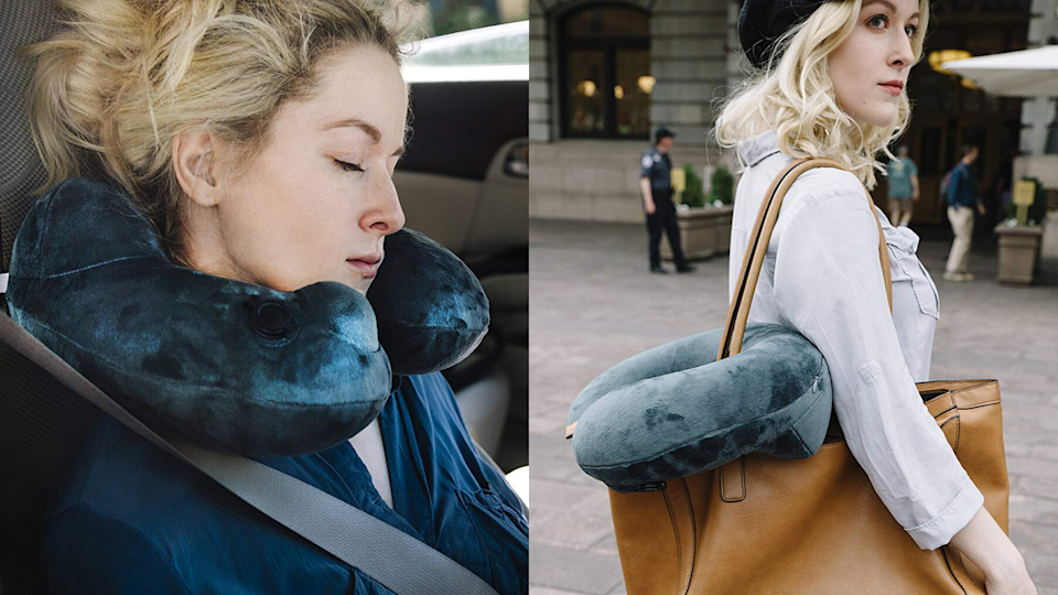 The best gifts for travelers: Air Comfy Neck Pillow