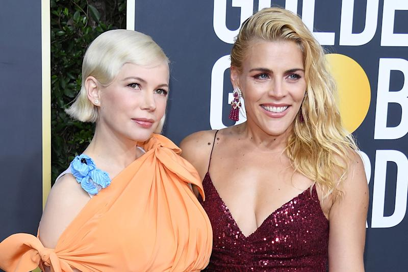 Michelle Williams und Busy Philipps auf den Golden Globes. (Bild: Getty Images)