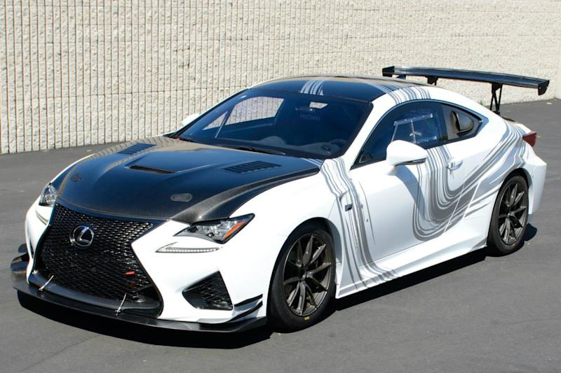 Lexus fills the gap between the production RC F coupe and GT3 racecar