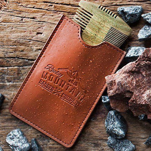 """<p><strong>Rocky Mountain Barber Company</strong></p><p>amazon.com</p><p><strong>$17.99</strong></p><p><a href=""""https://www.amazon.com/dp/B01A67WSLU?tag=syn-yahoo-20&ascsubtag=%5Bartid%7C2139.g.19520579%5Bsrc%7Cyahoo-us"""" rel=""""nofollow noopener"""" target=""""_blank"""" data-ylk=""""slk:BUY IT HERE"""" class=""""link rapid-noclick-resp"""">BUY IT HERE</a></p><p>Your dad will be so stoked to incorporate this versatile sandalwood beard comb to his existing routine. He'll rock his beard with a newfound confidence.</p>"""