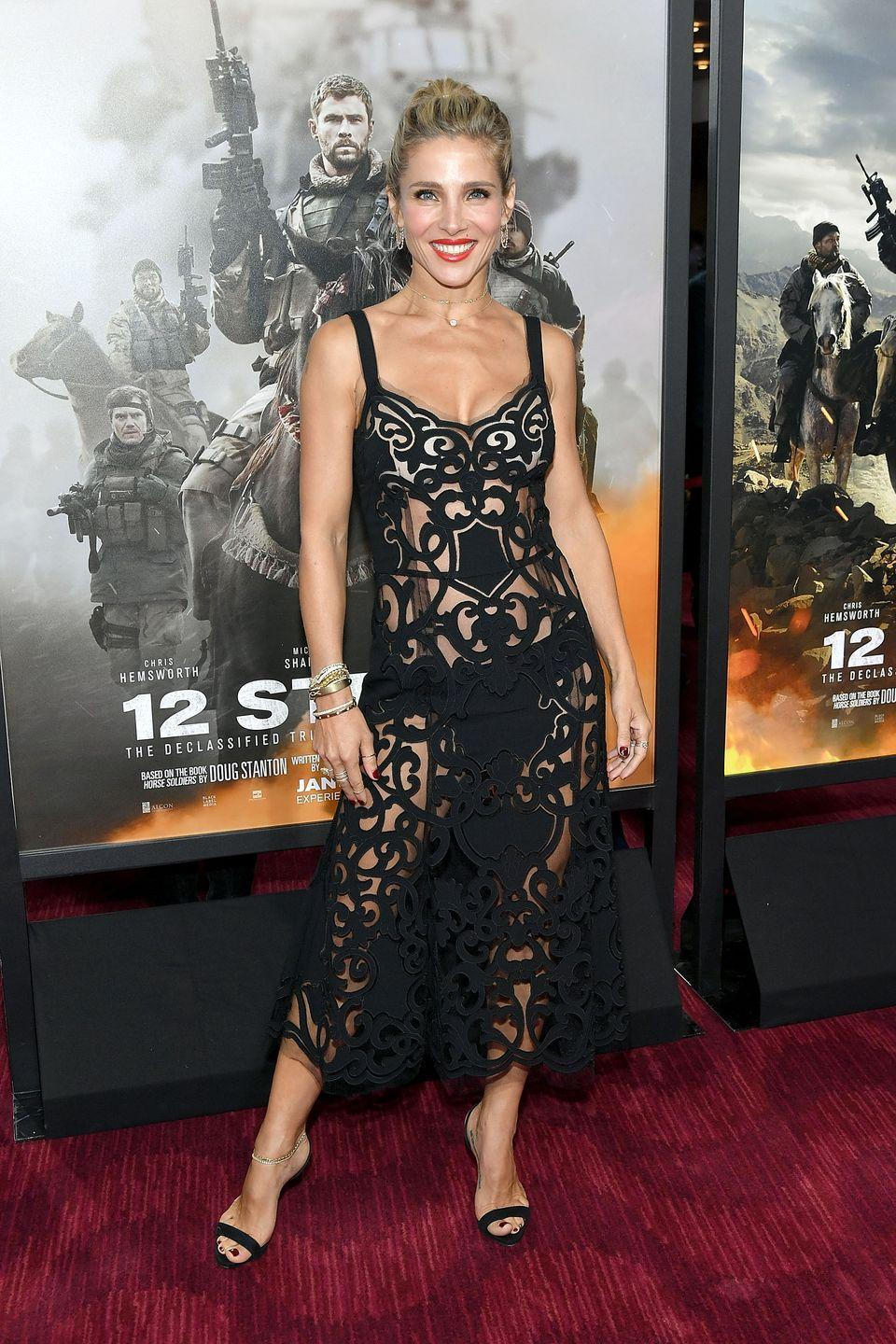 "<p>The Spanish actress and producer loves to work out. In fact, she says she can't go two weeks without exercising. ""I just get really nervous and my energy starts to go down,"" she told <em><a href=""https://www.womenshealthmag.com/uk/fitness/strength-training/a26084676/elsa-pataky/"" rel=""nofollow noopener"" target=""_blank"" data-ylk=""slk:Women's Health"" class=""link rapid-noclick-resp"">Women's Health</a></em>. ""When you start working out and your body's changing and achieving your goals that's such a great thing."" </p>"