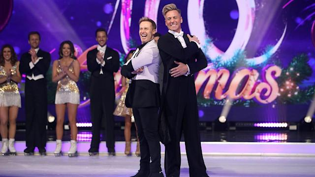Pro skater Matt Evers and singer Ian 'H' Watkins are making TV history by being the first same sex couple to appear on Dancing On Ice