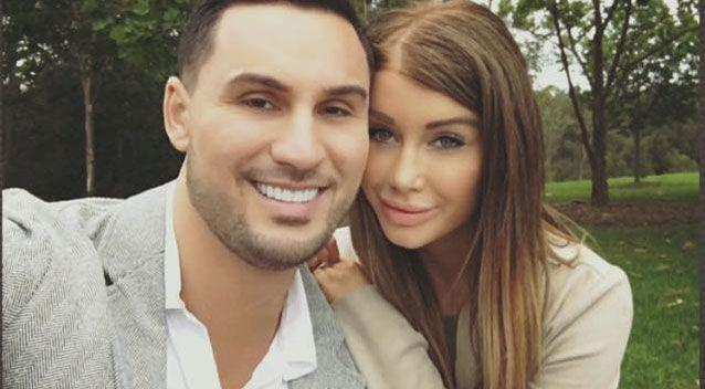 Salim Mehajer is pictured with his wife, Aysha Mehajer. Photo: Supplied.