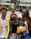 "<p>The model joined friends including Jaden Smith and Justine Skye for a charity initiative days after voting.</p><p><a href=""https://www.instagram.com/p/CGv0pySFa4c/"" rel=""nofollow noopener"" target=""_blank"" data-ylk=""slk:See the original post on Instagram"" class=""link rapid-noclick-resp"">See the original post on Instagram</a></p>"