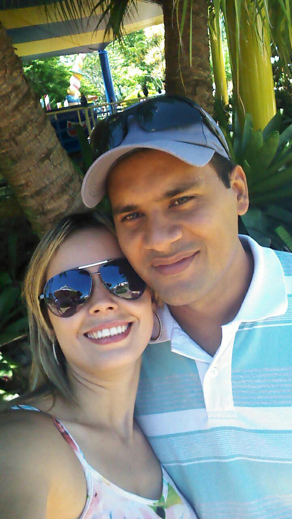 The 37-year-old (right) has three children. He is pictured here with his wife. Source: Newsflash/Australscope