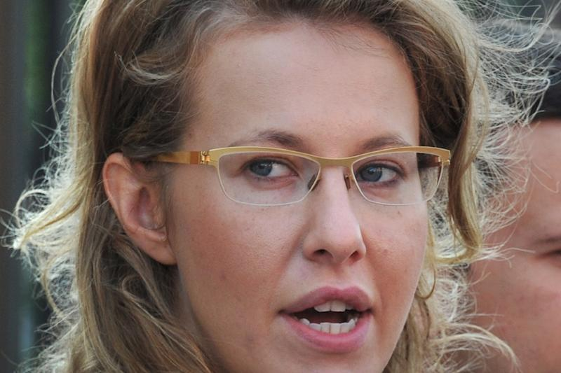 Russian journalist, reality TV host and socialite Ksenia Sobchak will run in the 2018 election as an independent candidate