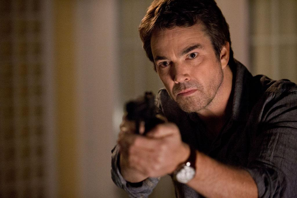 "Jon Tenney as Sean King in the series premiere of TNT's ""King & Maxwell."""