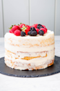 """<p>Don't stress about getting the icing perfect!</p><p>Get the recipe from <a href=""""https://www.delish.com/cooking/recipe-ideas/a23031807/naked-cake-recipe/"""" rel=""""nofollow noopener"""" target=""""_blank"""" data-ylk=""""slk:Delish"""" class=""""link rapid-noclick-resp"""">Delish</a>. </p>"""
