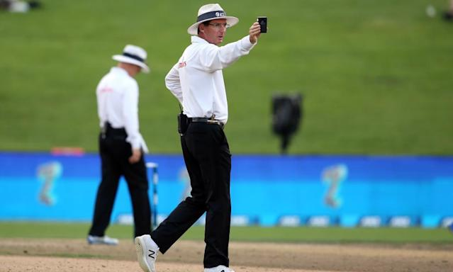 "<span class=""element-image__caption"">Cricket umpires will be empowered to send players off the ground under a new code of conduct in the MCC's updated laws of the game.</span> <span class=""element-image__credit"">Photograph: Michael Bradley/AFP/Getty Images</span>"