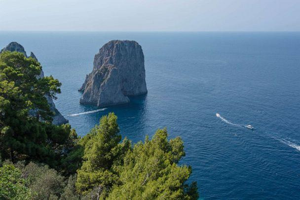 PHOTO: View from Punta Tragara, Capri. (Oyster.com)