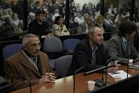 Argentine court sentences South American ex-army officers for atrocities