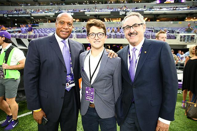 The Vikings have hired 18-year old Jonah Stillman to consult with the team on how to appeal to Gen Z individuals. (Minnesota Vikings)