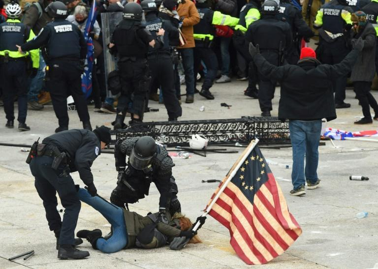 More than 180 people have been charged by federal prosecutors so far over the January 6, 2021 attack on the US Capitol by supporters of then-president Donald Trump