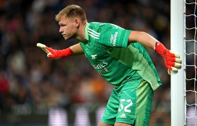 Ramsdale has conceded just one goal in five appearances for Arsenal.