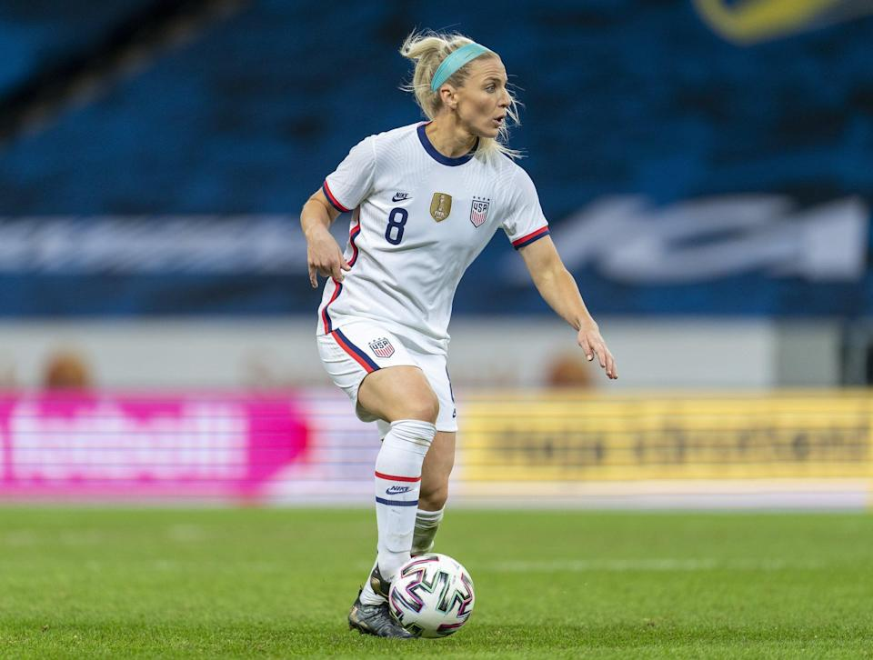 <p><strong>Position:</strong> defender</p> <p><strong>Hometown:</strong> Mesa, AZ</p> <p><strong>Club</strong>: Chicago Red Stars</p> <p><strong>Olympic appearances: </strong>Rio 2016</p> <p>Ertz was named US Soccer's 2019 Female Player of the Year. After a fifth place finish with the Olympic team in 2016, Ertz is vying for her first medal in Tokyo.</p>
