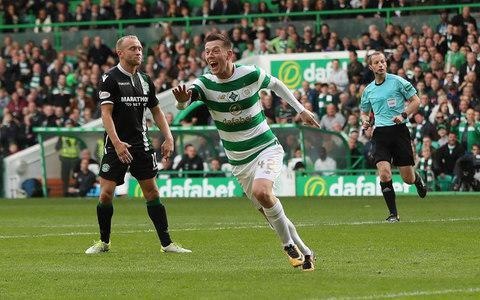 <span>Callum McGregor scored twice for Celtic</span> <span>Credit: Getty images </span>