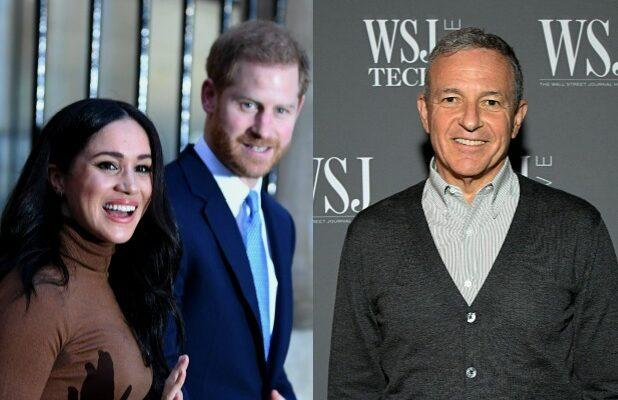 Prince Harry Pitched Meghan Markle's Voice Acting to Bob Iger at 'Lion King' Premiere