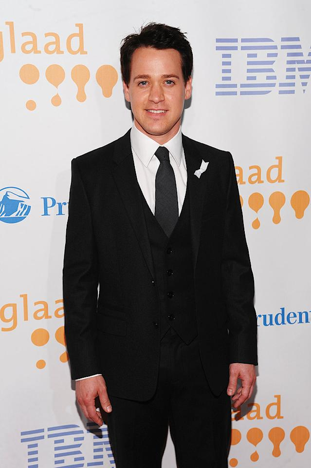 "Former ""Grey's Anatomy"" doc T.R. Knight famously revealed his sexuality following an on-set argument in which co-star Isaiah Washington dropped an offensive slur. These days, T.R.'s thriving on Broadway. Dimitrios Kambouris/<a href=""http://www.wireimage.com"" target=""new"">WireImage.com</a> - March 28, 2009"