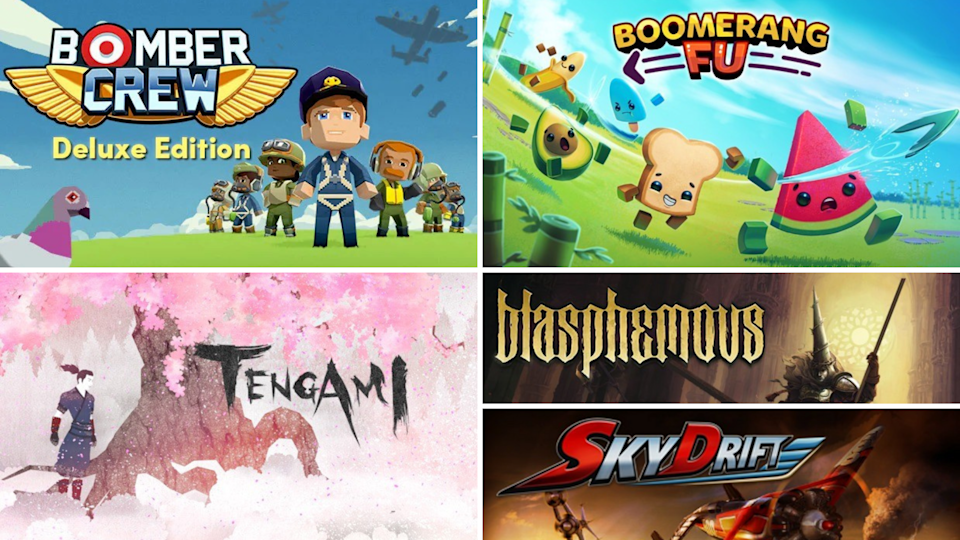 Grab these five new top-rated games for free! (Photo: Amazon)