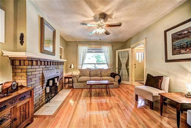 """<p><a rel=""""nofollow"""">12 Maryland Blvd., Toronto, Ont.</a><br /> There are hardwood floors and original trim in the home.<br /> (Photo: Zoocasa) </p>"""