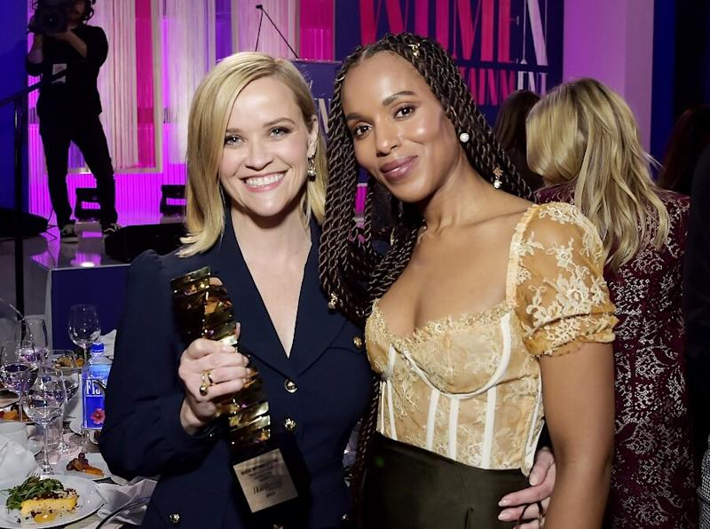 "Kerry Washington opened up about Reese Witherspoon's mentorship and Hollywood's newfound ""sisterhood"""