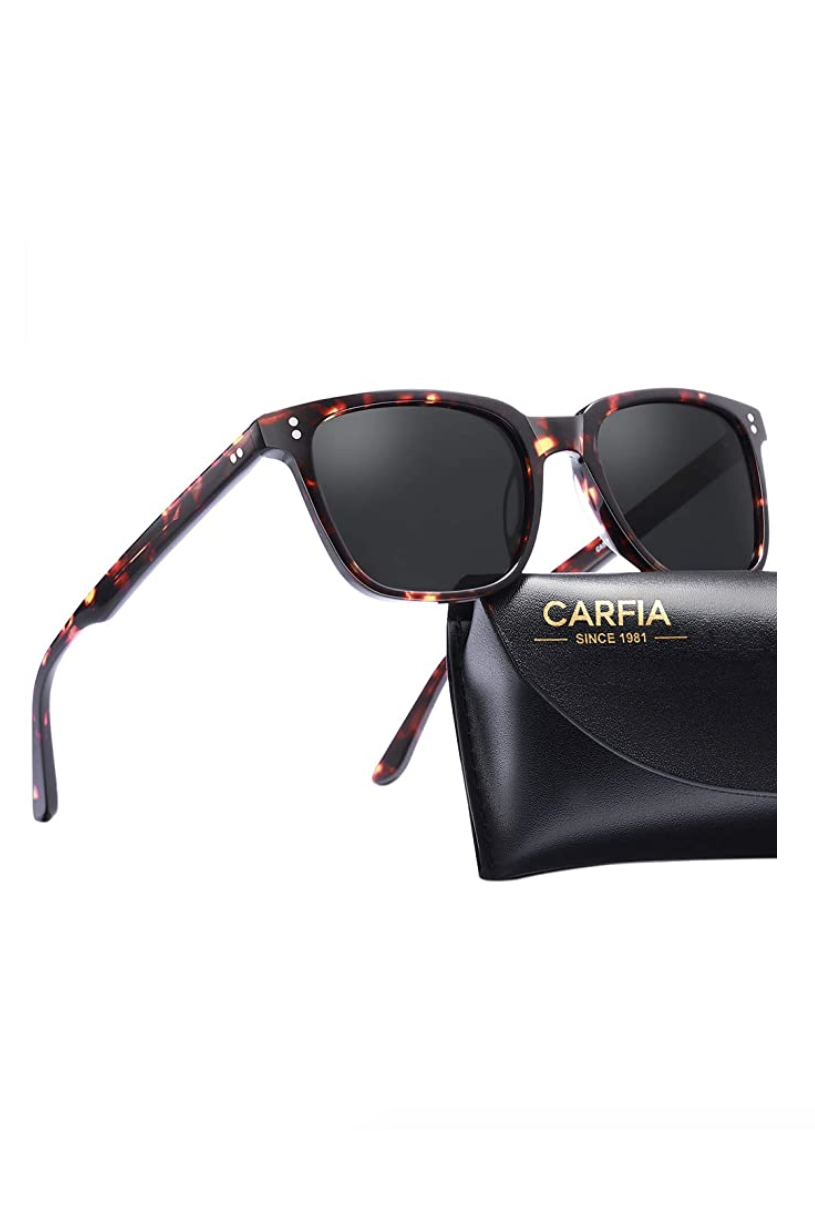 """<p><strong>Carfia</strong></p><p>amazon.com</p><p><strong>$24.99</strong></p><p><a href=""""https://www.amazon.com/dp/B0797S5K3G?tag=syn-yahoo-20&ascsubtag=%5Bartid%7C10058.g.35120846%5Bsrc%7Cyahoo-us"""" rel=""""nofollow noopener"""" target=""""_blank"""" data-ylk=""""slk:SHOP IT"""" class=""""link rapid-noclick-resp"""">SHOP IT</a></p><p>These polarized sunglasses are strong, flexible, and lightweight if you're seeking a non-fussy pair to wear every day. One fan wrote, """"Wow! Really impressed with the quality and comfort for the price. I get migraines on a daily basis and these are very comfortable to wear during that time. Very clear polarized lenses and came nicely packaged. Overall very happy with the purchase and recommend!!""""</p>"""