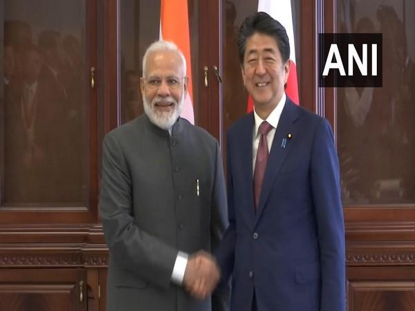 PM Narendra Modi with his Japanese counterpart Shinzo Abe (File photo)